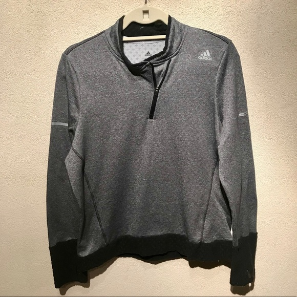 d0e5f42da5 adidas Tops | Climaheat 14 Zip Pullover Euc M | Poshmark